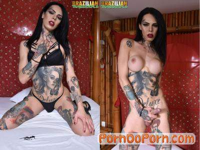 Gaby Ink starring in TS Gaby Ink - Brazilian-Transsexuals (HD 720p / Shemale)
