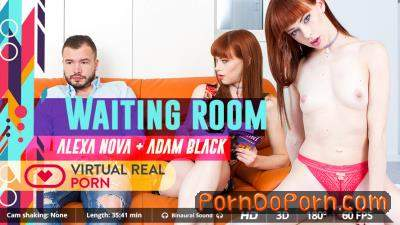 Alexa Nova starring in Waiting Room - VirtualRealPorn (2K UHD 1600p / 3D / VR)