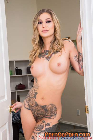 Kleio Valentien starring in Blonde with Big Tits - MyFriendsHotGirl, NaughtyAmerica (SD 360p)