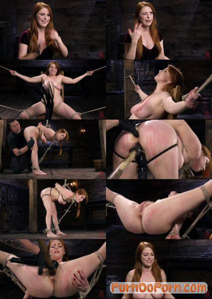 Penny Pax starring in Red Headed Slut is Bound, Tormented, Double Penetrated and Made to Cum - Hogtied, Kink (HD 720p)