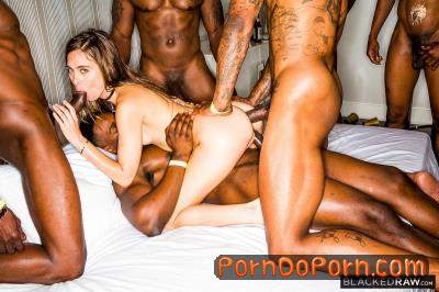 Riley Reid starring in Girlfriend Gangbang At The After Party - BlackedRaw (HD 720p)