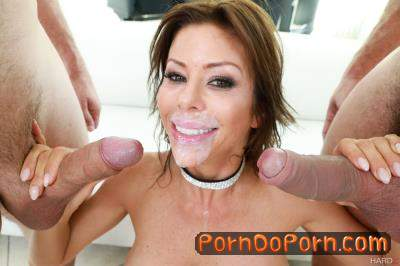 Alexis Fawx starring in Alexis Fawx 1ST DP - HardX (SD 544p)