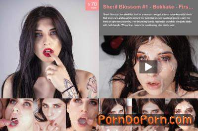 Sheril Blossom starring in Bukkake - First Camera - Premiumbukkake (FullHD 1080p)