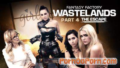 April ONeil, Abigail Mac, Cherie DeVille, Kenna James starring in Fantasy Factory: Wastelands - Episode 4: The Escape - GirlsWay (FullHD 1080p)