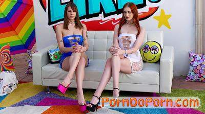 Sailor Luna, Maya Kendrick starring in SAILOR AND MAYA GET THEIR MOUTHS FILLED - Swallowed (FullHD 1080p)