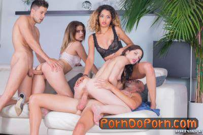 Alice Fabre, Rachel Adjani, Scarlet, Scarlet Domingo starring in College Girl Orgy With BCN - TightAndTeen, Private (SD 360p)