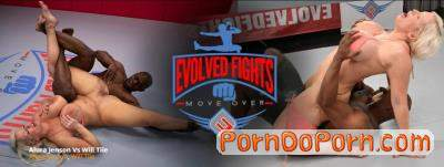 Alura Jenson starring in Alura Jenson vs Will Tile - EvolvedFights (FullHD 1080p)