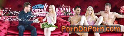Emma Starletto starring in Valentines Day Double Dick Down - ExxxtraSmall, TeamSkeet (HD 720p)