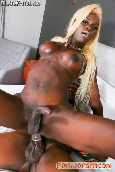 Plenty starring in Skinny But Plenty Enjoys Hard Fucking! - Grooby, Black-TGirls (FullHD 1080p)