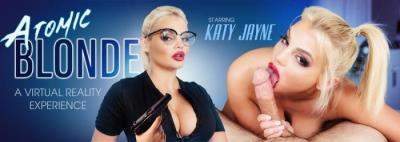 Katy Jayne starring in Atomic Blonde - VRBangers (UltraHD 2K 2048p / 3D / VR)