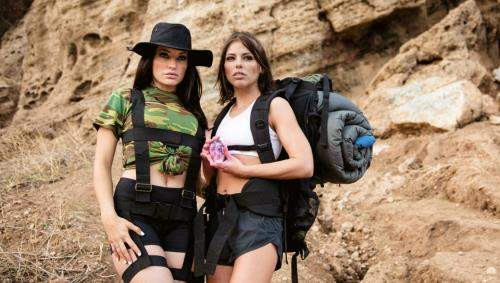Adriana Chechik, Kissa Sins starring in Sapphic Curse Of Tthe Crystal Skull - GirlsWay (FullHD 1080p)