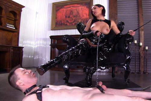 Chloe Amour starring in Glossy Boots - FemdomEmpire (FullHD 1080p)