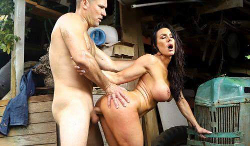 Kendra Lust starring in Kendra Lust Gets Fucked At the Farm - AssParade, BangBros (SD 480p)