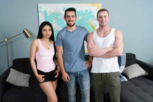 Dante Colle, Brandon Evans, Rose Darling starring in Virtual Fuck - WhyNotBi (HD 720p)