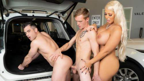 Alura Jenson, Lance Hart, Zane Anders starring in Parking In Rear - WhyNotBi (HD 720p)
