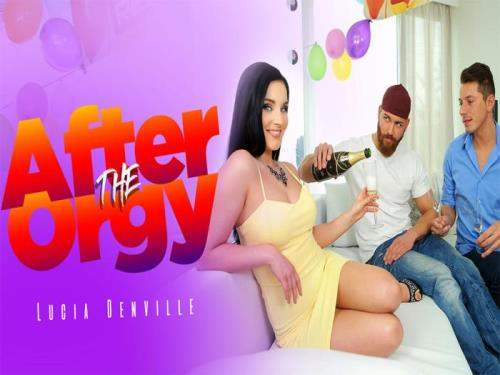 Lucia Denville starring in After The Orgy - After The Orgy, RealityLovers (UltraHD 2K 1440p / 3D / VR)