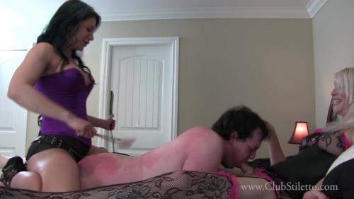 Jasmine, Staci starring in He Thought it was going to be a Casual Spit Roast - ClubStiletto (FullHD 1080p)
