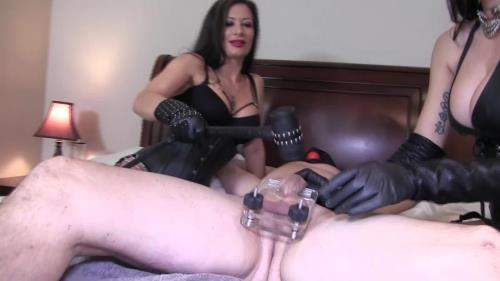Mistress Damazonia, Miss Jasmine starring in Hungry Dick Swallows Her Entire Heel - ClubStiletto (FullHD 1080p)