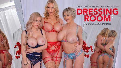 Casca Akashova, Dee Williams, Rachael Cavalli starring in Dressing Room 7 - NaughtyAmericaVR (UltraHD 2K 2048p / 3D / VR)