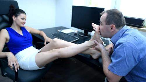 Lexi starring in Office Foot Fetish Seduction - CzechSoles (FullHD 1080p)