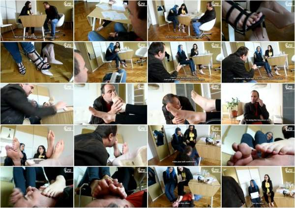 Worshiping Two Insurance Agents Amazing Feeton A Great Deal - CzechSoles (FullHD 1080p)
