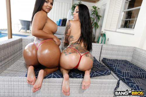Rose Monroe, Lilith Morningstar starring in The Big Booty Sweet Tooth! - AssParade, BangBros (SD 480p)